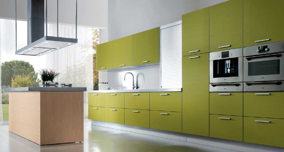 Modular kitchen design home design for Sample modular kitchen designs